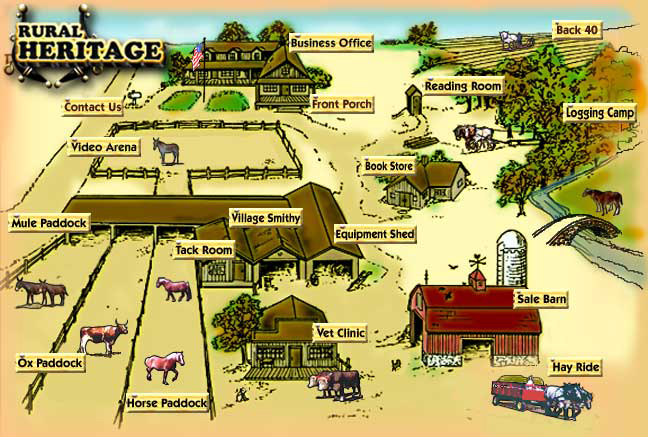 Rural Heritage home page graphic