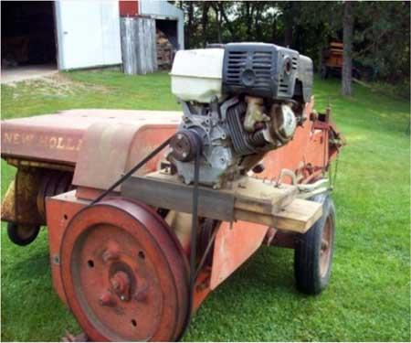 baler motor