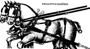 filed or plow harness